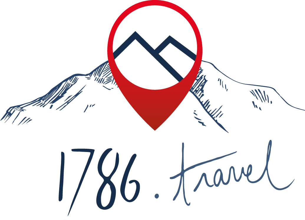 1786 Travel logo